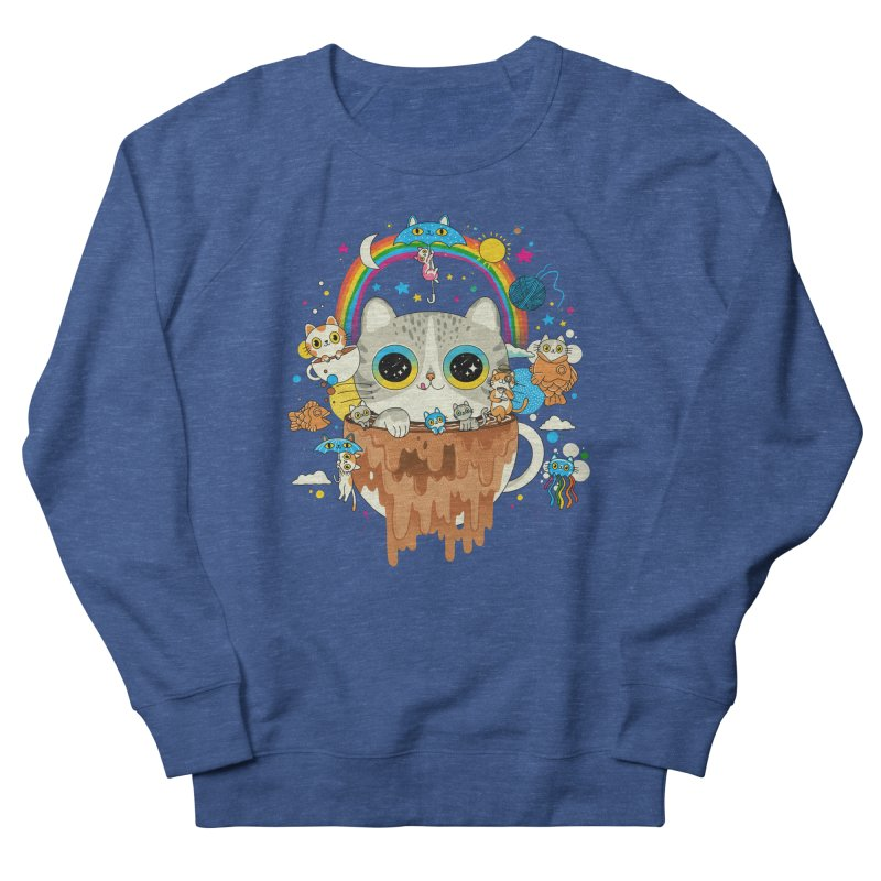 Cats Tripping Dripping Coffee Morning Women's Sweatshirt by Pepe Rodríguez