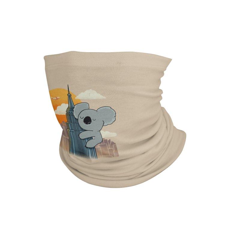 Koala Kaiju Accessories Neck Gaiter by Pepe Rodríguez