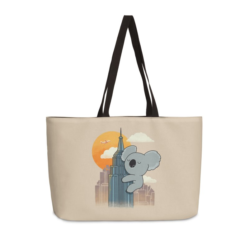 Koala Kaiju Accessories Bag by Pepe Rodríguez