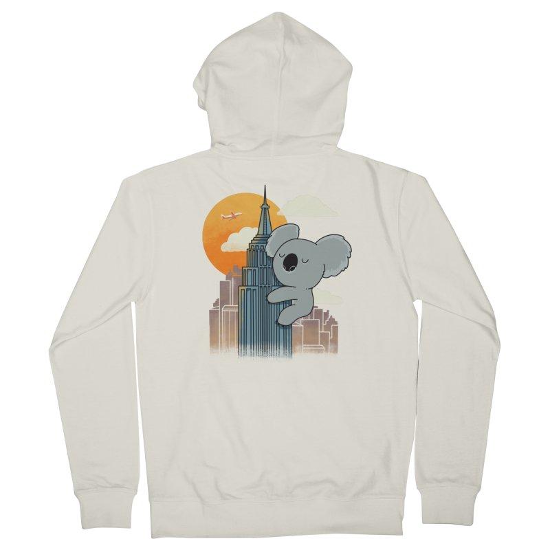 Koala Kaiju Men's Zip-Up Hoody by Pepe Rodríguez