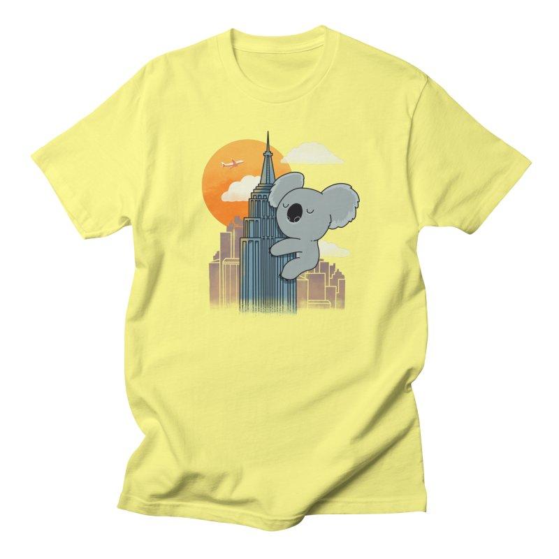 Koala Kaiju Men's T-Shirt by Pepe Rodríguez