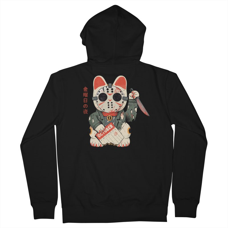 Lucky Friday Men's Zip-Up Hoody by Pepe Rodríguez