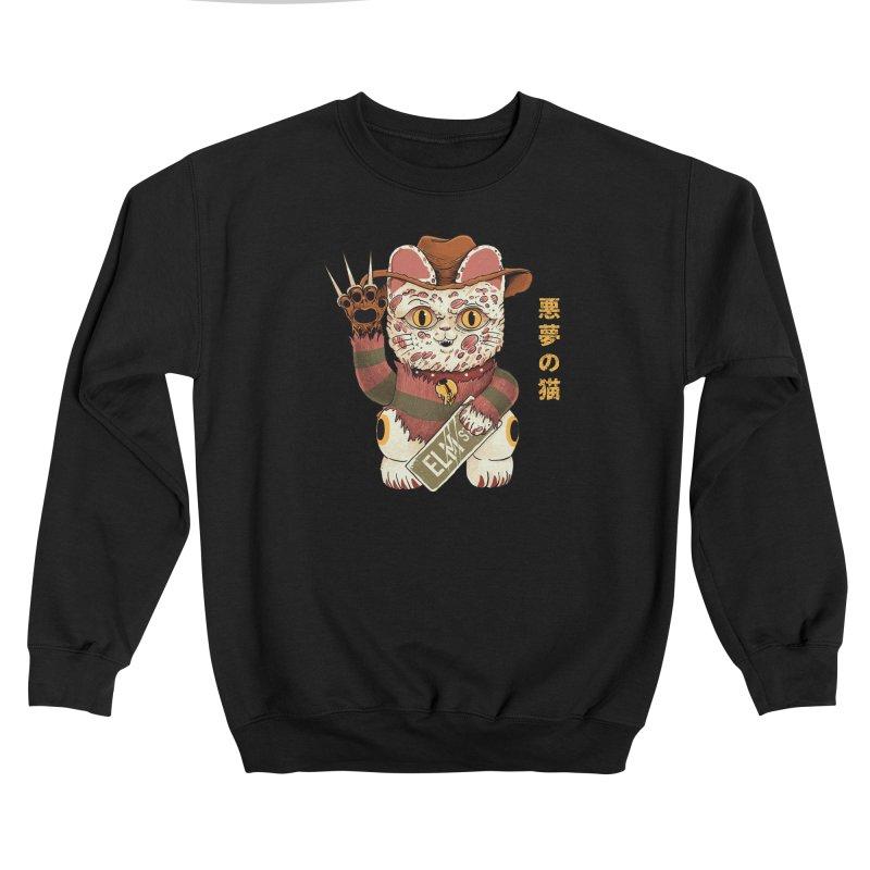 Lucky Nightmare Cat Women's Sweatshirt by Pepe Rodríguez