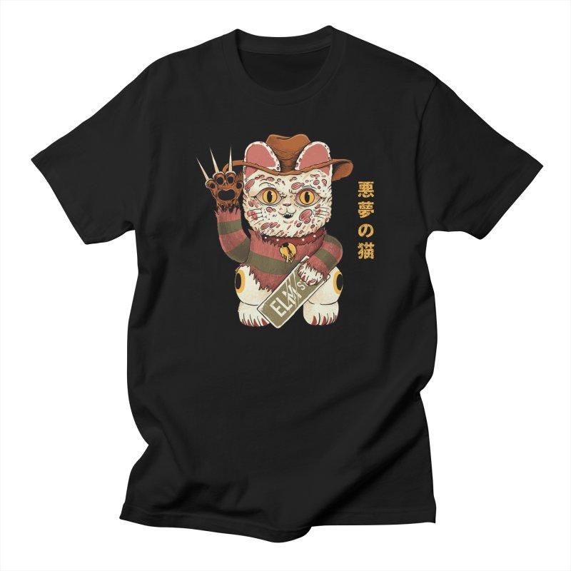 Lucky Nightmare Cat Women's T-Shirt by Pepe Rodríguez