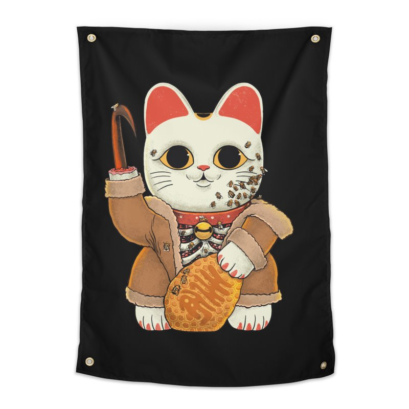 Lucky Candycat Home Tapestry by Pepe Rodríguez