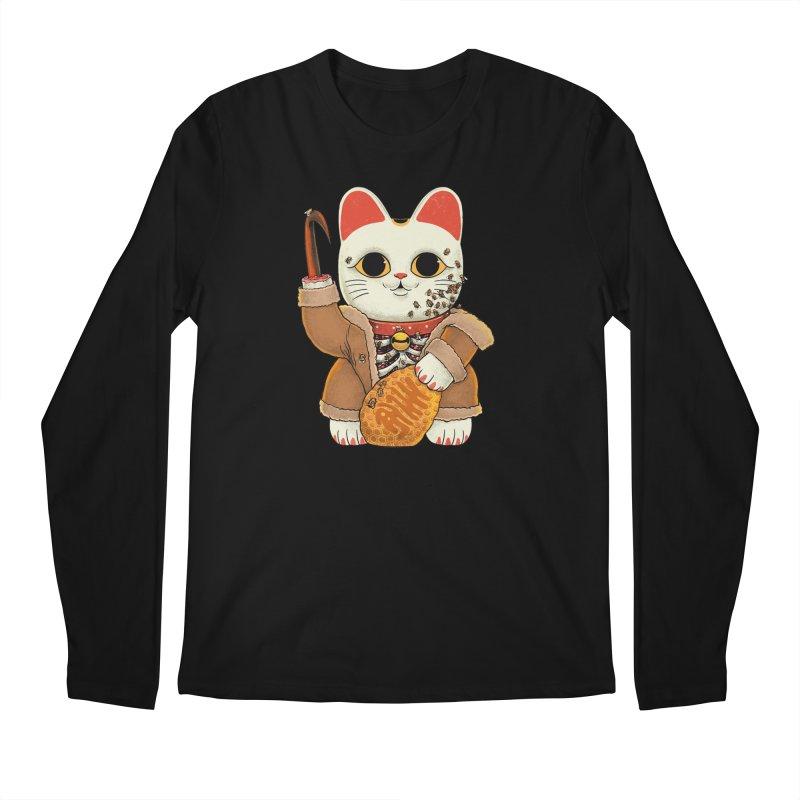 Lucky Candycat Men's Longsleeve T-Shirt by Pepe Rodríguez