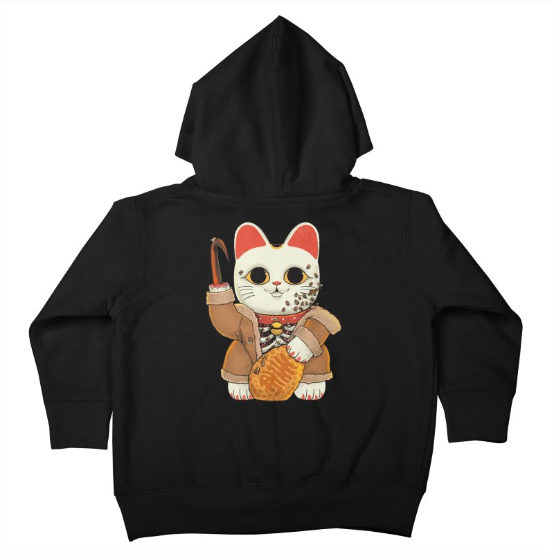 Lucky Candycat Kids Toddler Zip-Up Hoody by Pepe Rodríguez
