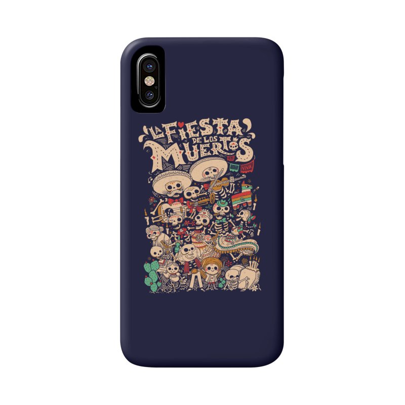 Dead party Accessories Phone Case by Pepe Rodríguez