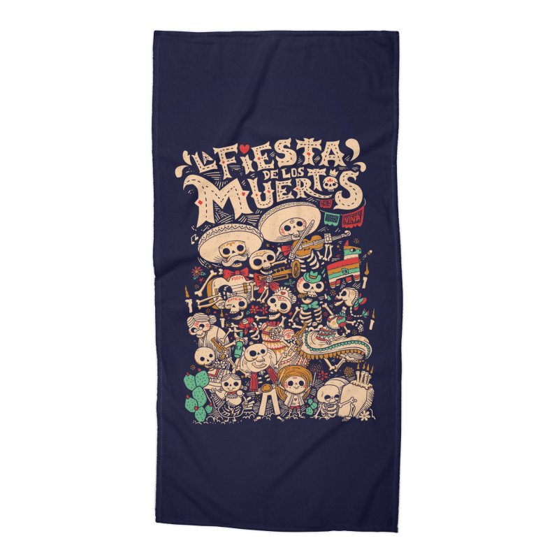 Dead party Accessories Beach Towel by Pepe Rodríguez