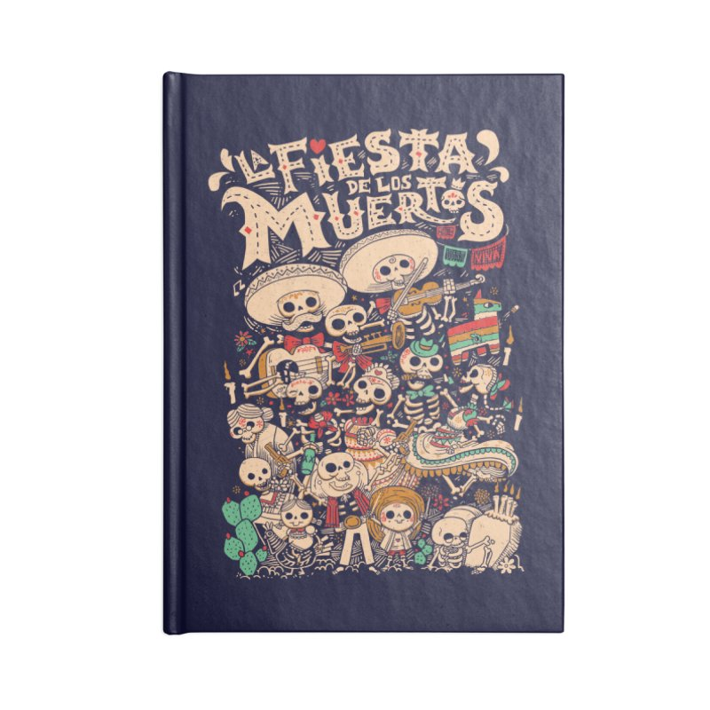 Dead party Accessories Notebook by Pepe Rodríguez