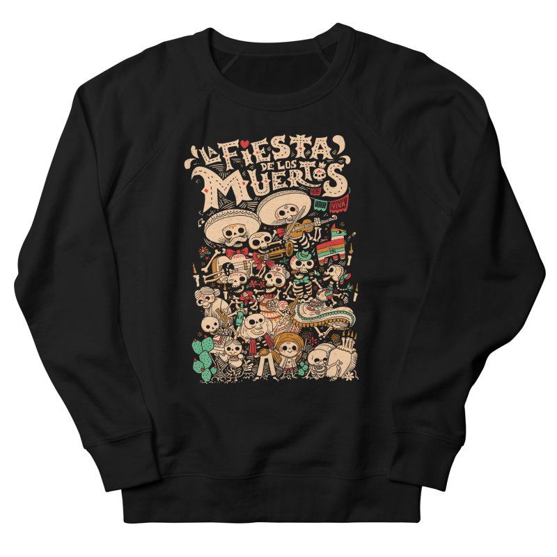 Dead party Men's French Terry Sweatshirt by Pepe Rodríguez