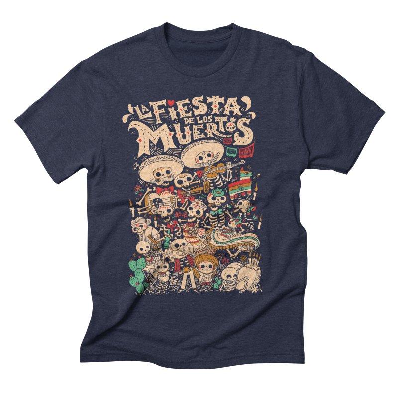 Dead party Men's Triblend T-shirt by Pepe Rodríguez