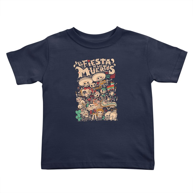 Dead party Kids Toddler T-Shirt by Pepe Rodríguez