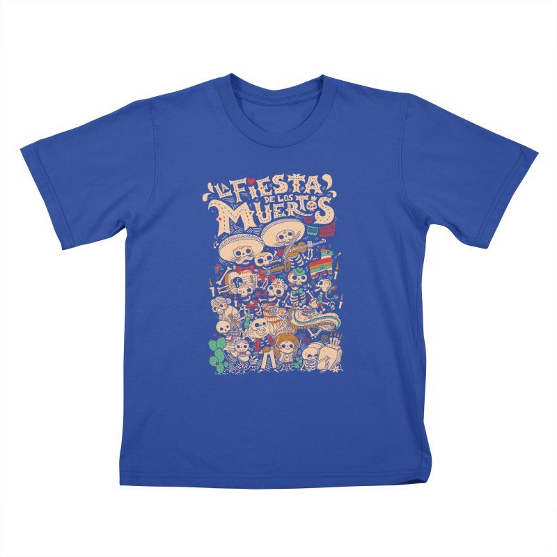 Dead party Kids T-Shirt by Pepe Rodríguez