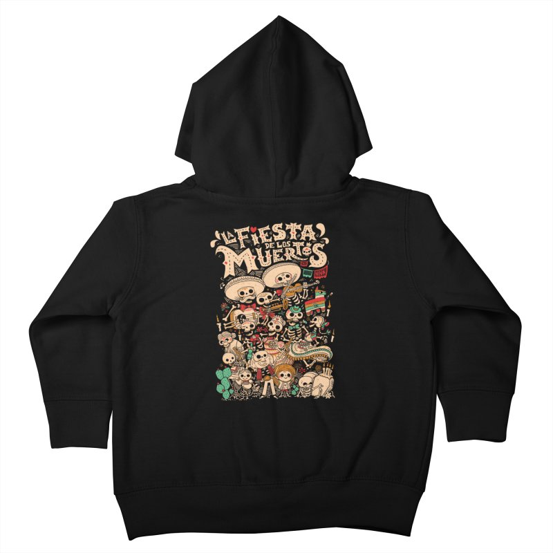 Dead party Kids Toddler Zip-Up Hoody by Pepe Rodríguez