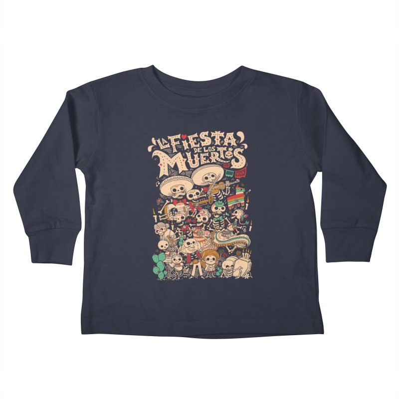 Dead party Kids Toddler Longsleeve T-Shirt by Pepe Rodríguez