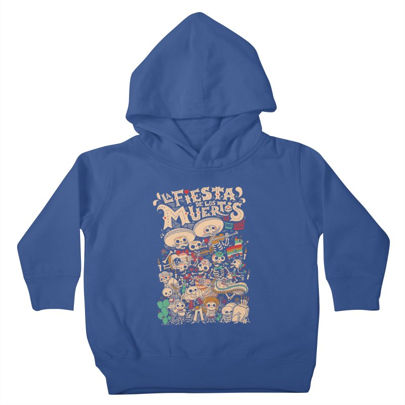 Dead party Kids Toddler Pullover Hoody by Pepe Rodríguez