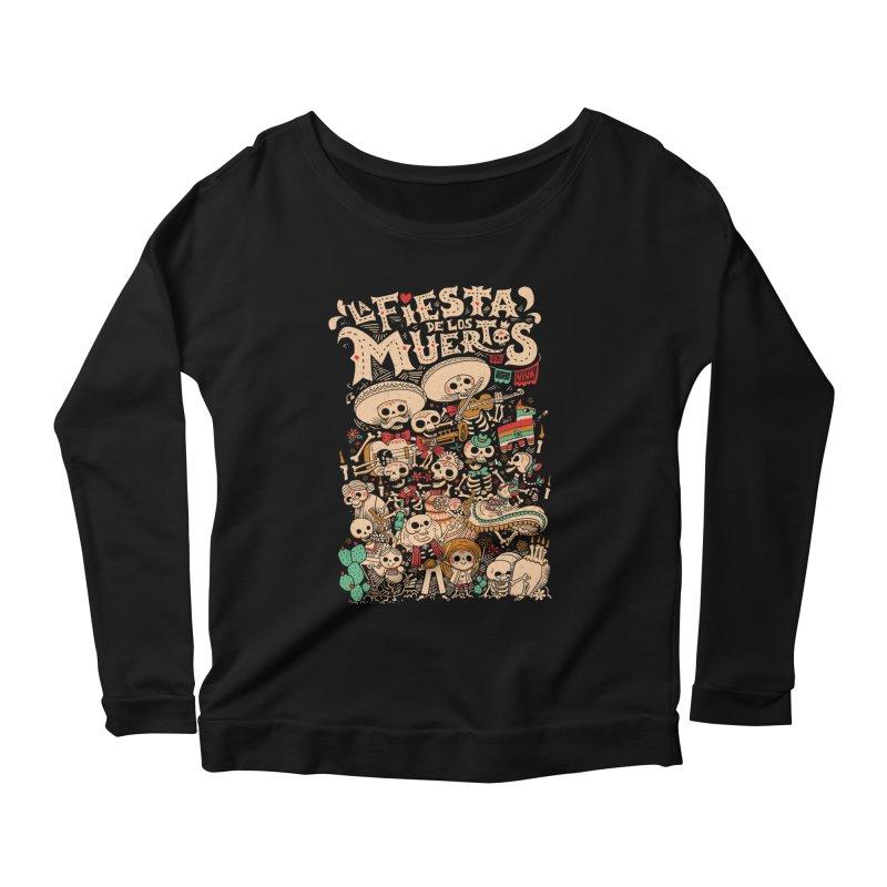 Dead party Women's Scoop Neck Longsleeve T-Shirt by Pepe Rodríguez