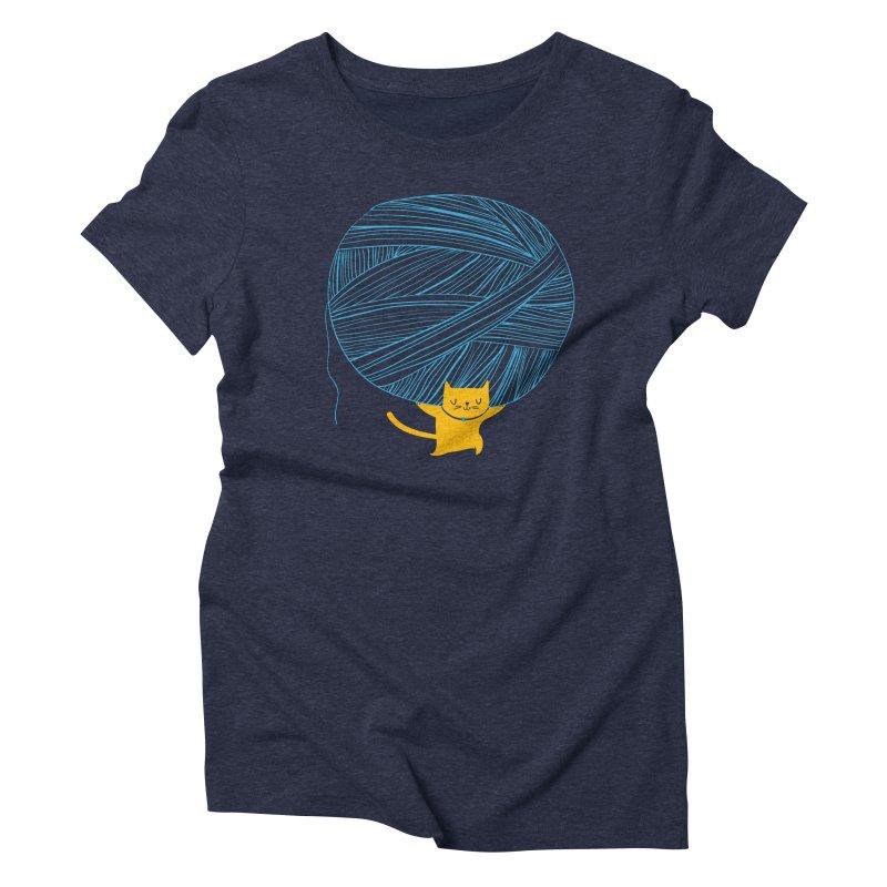 Catlas Women's Triblend T-Shirt by Pepe Rodríguez