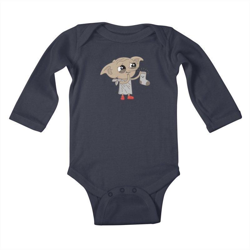 Elf Kids Baby Longsleeve Bodysuit by Pepe Rodríguez