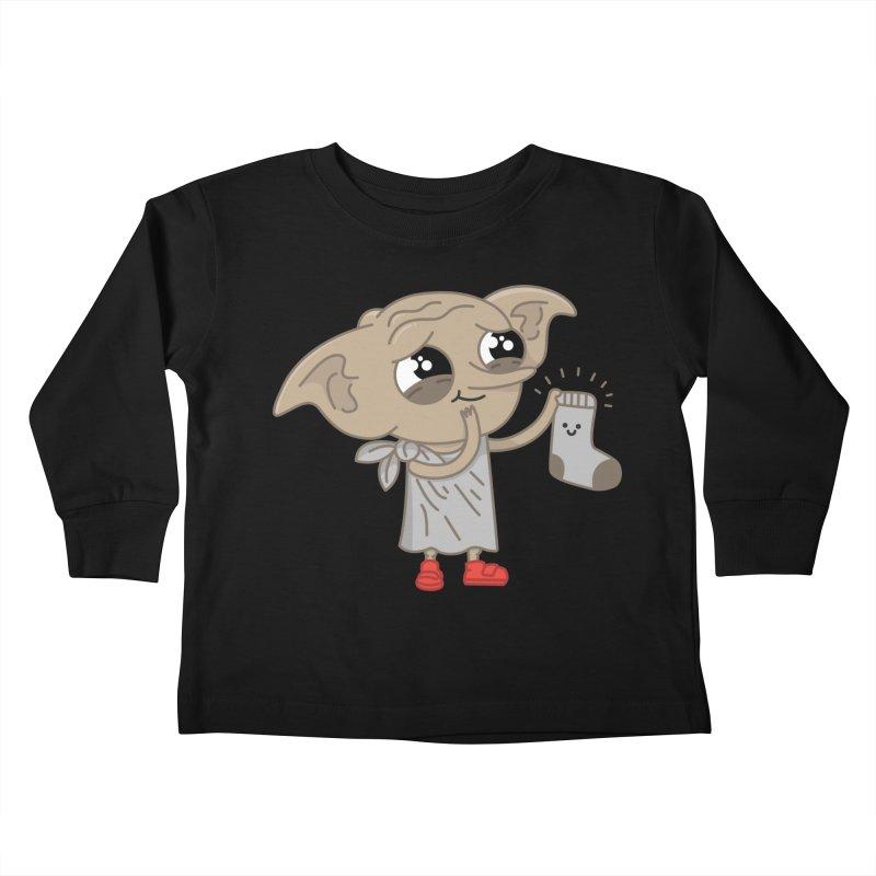 Elf Kids Toddler Longsleeve T-Shirt by Pepe Rodríguez