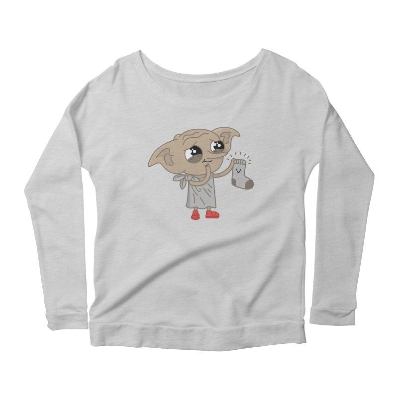 Elf Women's Scoop Neck Longsleeve T-Shirt by Pepe Rodríguez