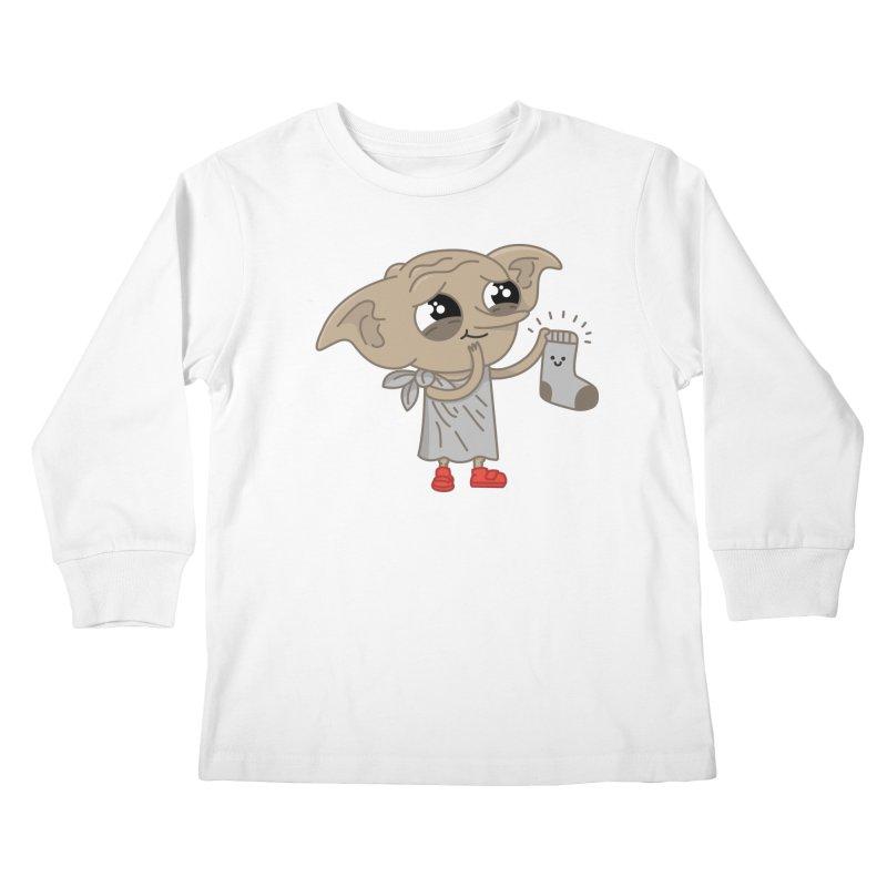 Elf Kids Longsleeve T-Shirt by Pepe Rodríguez