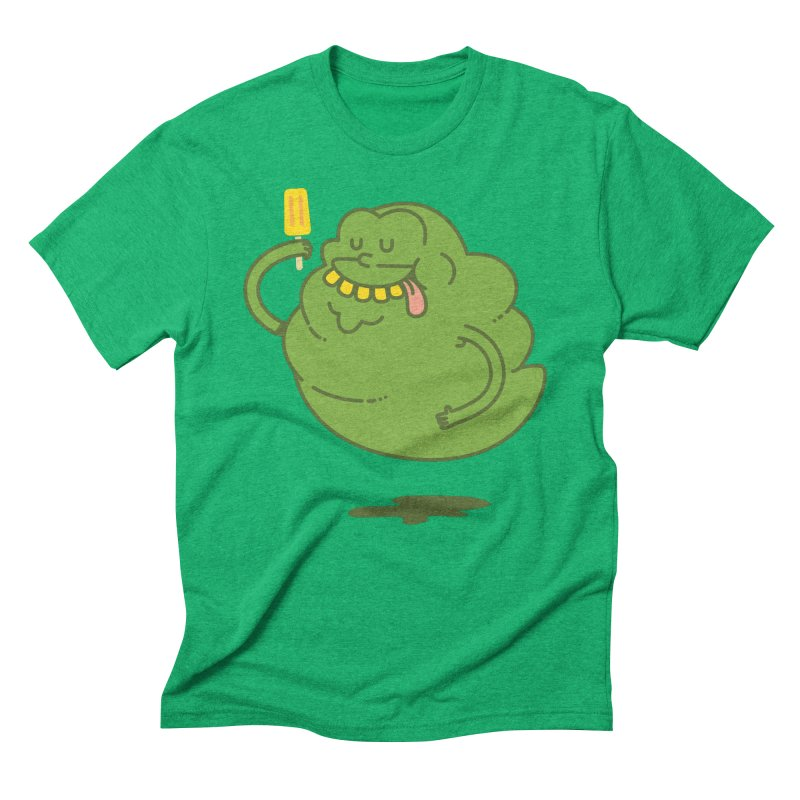 Lime Men's Triblend T-Shirt by Pepe Rodríguez