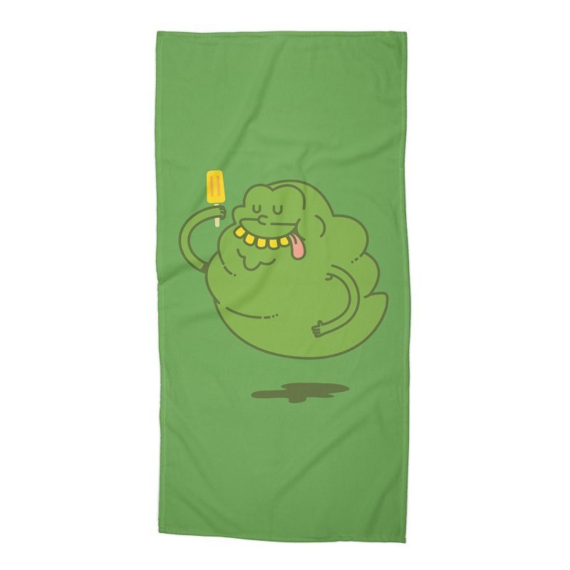 Lime Accessories Beach Towel by Pepe Rodríguez
