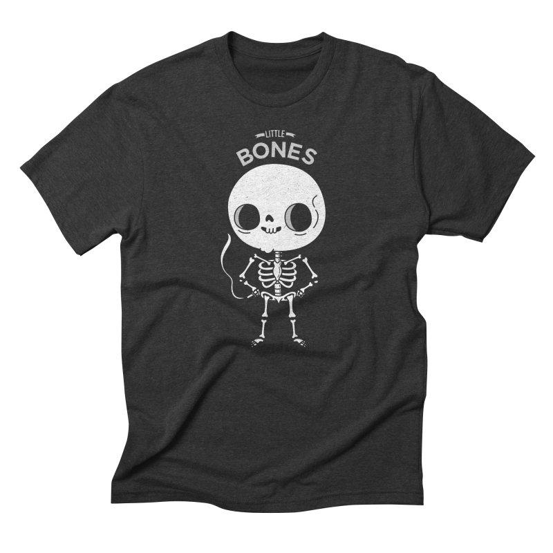 Little Bones Men's Triblend T-shirt by Pepe Rodríguez