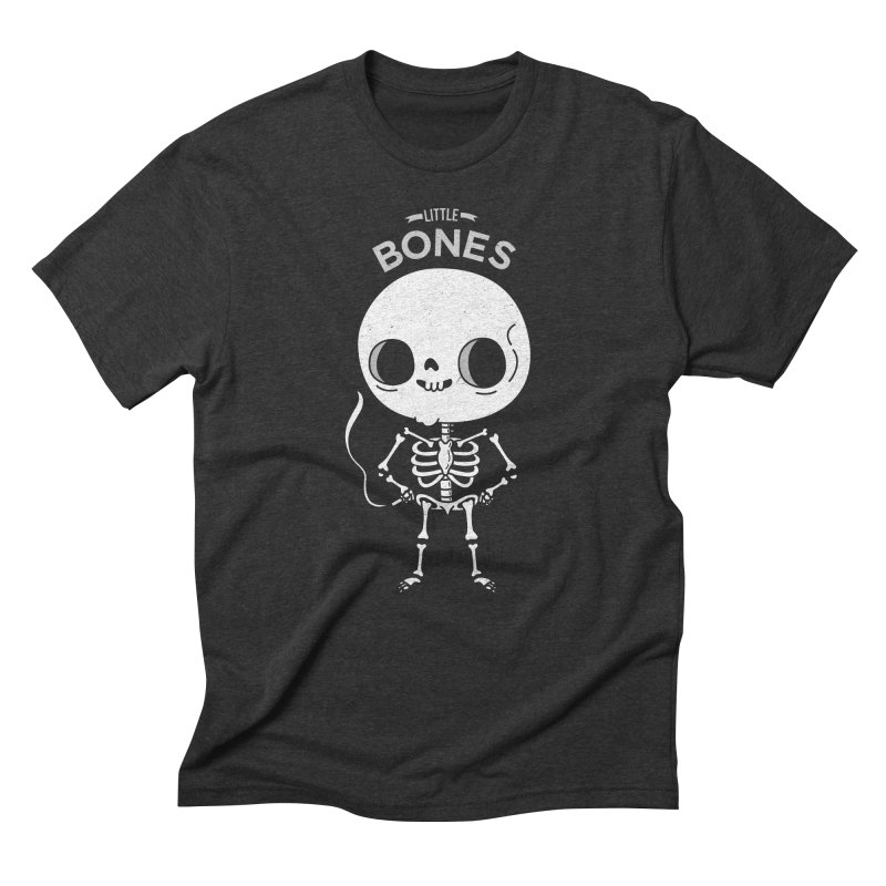 Little Bones Men's Triblend T-shirt by Pepe Rodríguez