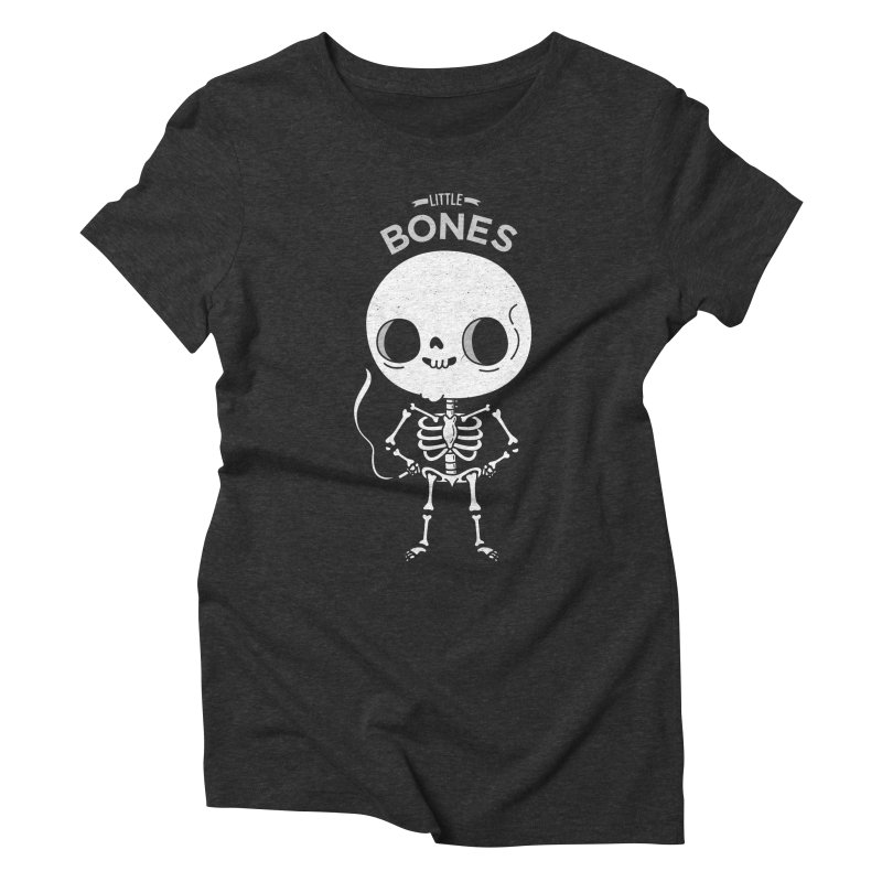 Little Bones Women's Triblend T-Shirt by Pepe Rodríguez