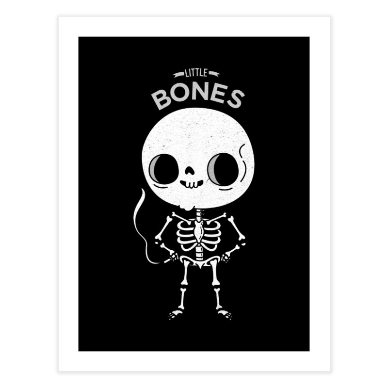 Little Bones Home Fine Art Print by Pepe Rodríguez