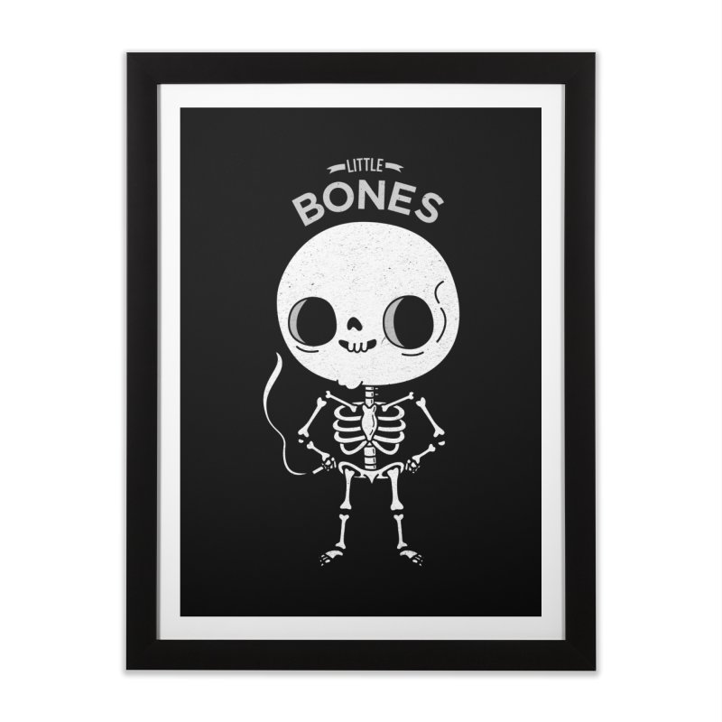 Little Bones Home Framed Fine Art Print by Pepe Rodríguez