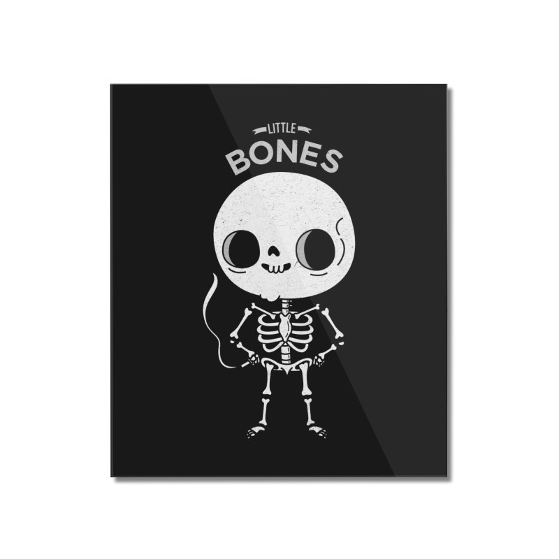 Little Bones Home Mounted Acrylic Print by Pepe Rodríguez