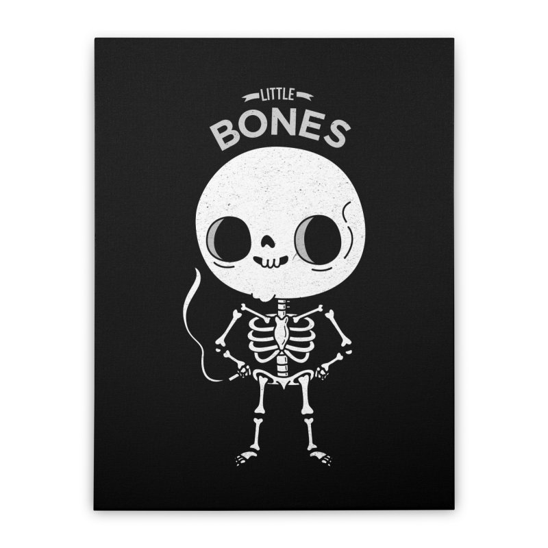 Little Bones Home Stretched Canvas by Pepe Rodríguez