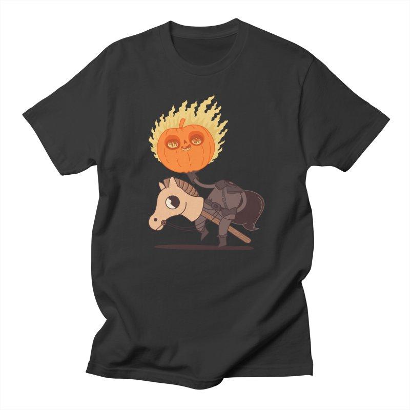 Spooky Rider Men's T-Shirt by Pepe Rodríguez