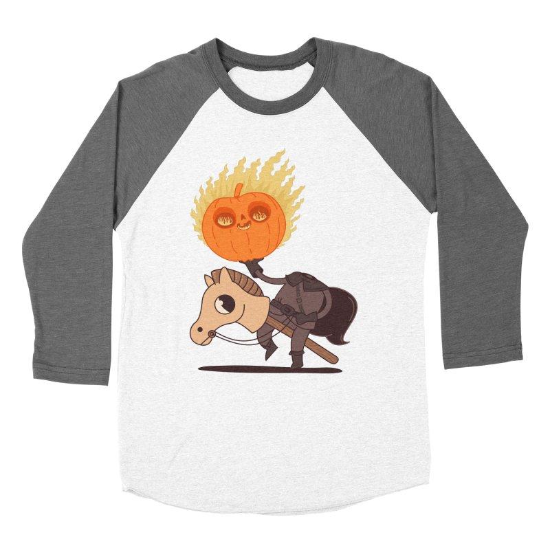 Spooky Rider Men's Baseball Triblend T-Shirt by Pepe Rodríguez
