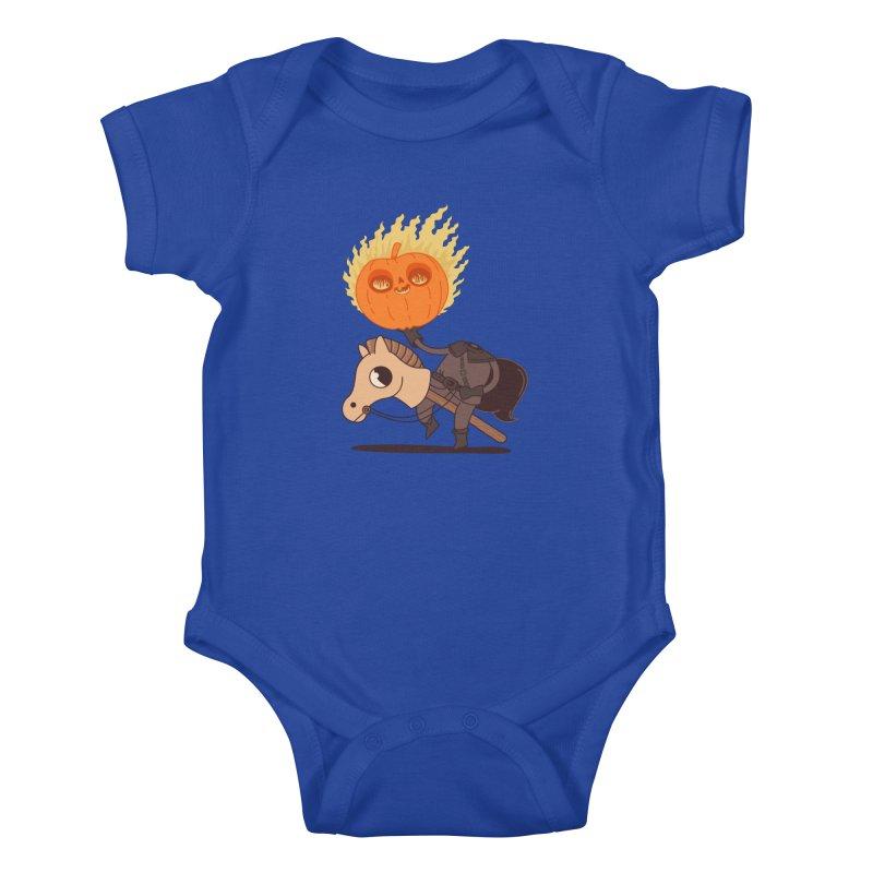 Spooky Rider Kids Baby Bodysuit by Pepe Rodríguez