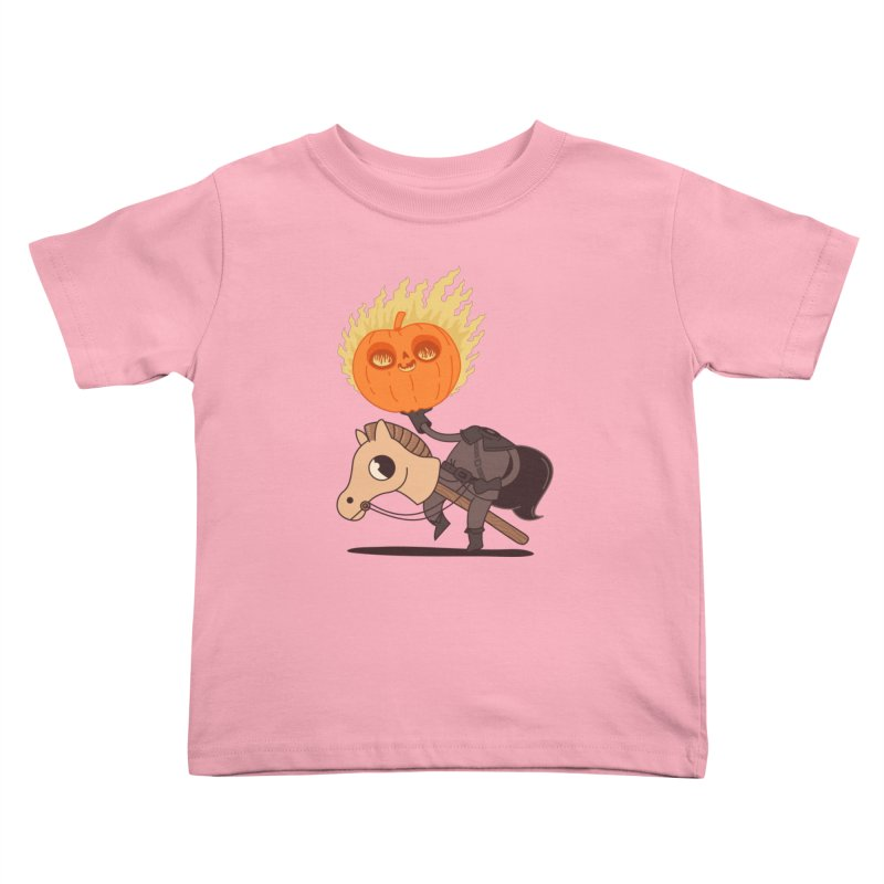 Spooky Rider Kids Toddler T-Shirt by Pepe Rodríguez