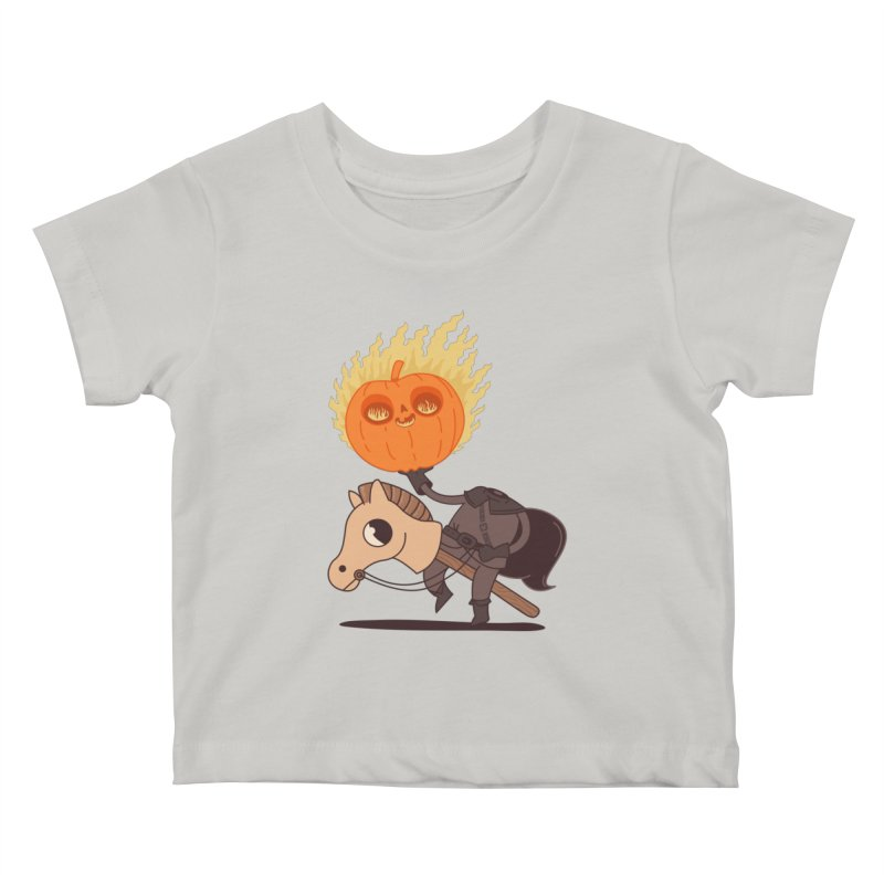 Spooky Rider Kids Baby T-Shirt by Pepe Rodríguez
