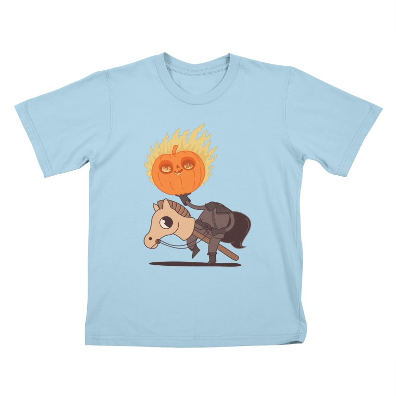 Spooky Rider Kids T-Shirt by Pepe Rodríguez