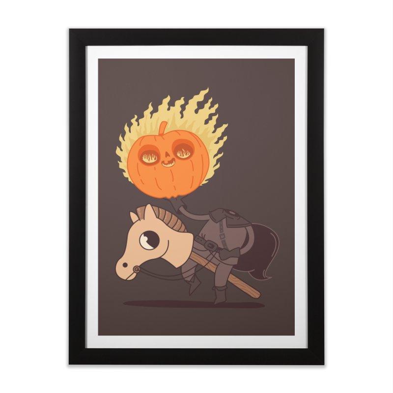 Spooky Rider Home Framed Fine Art Print by Pepe Rodríguez