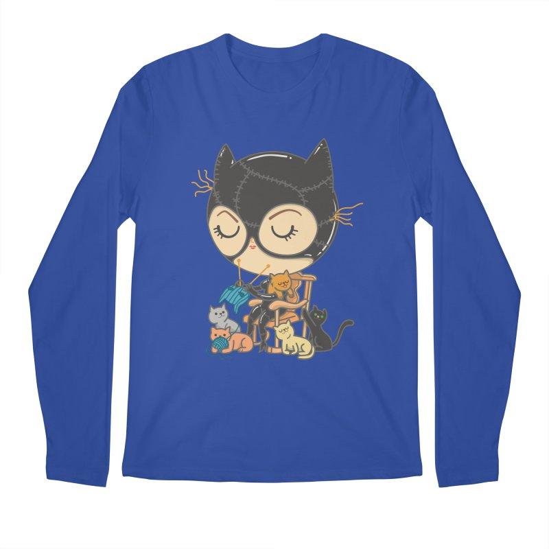 Cat Lady Men's Longsleeve T-Shirt by Pepe Rodríguez