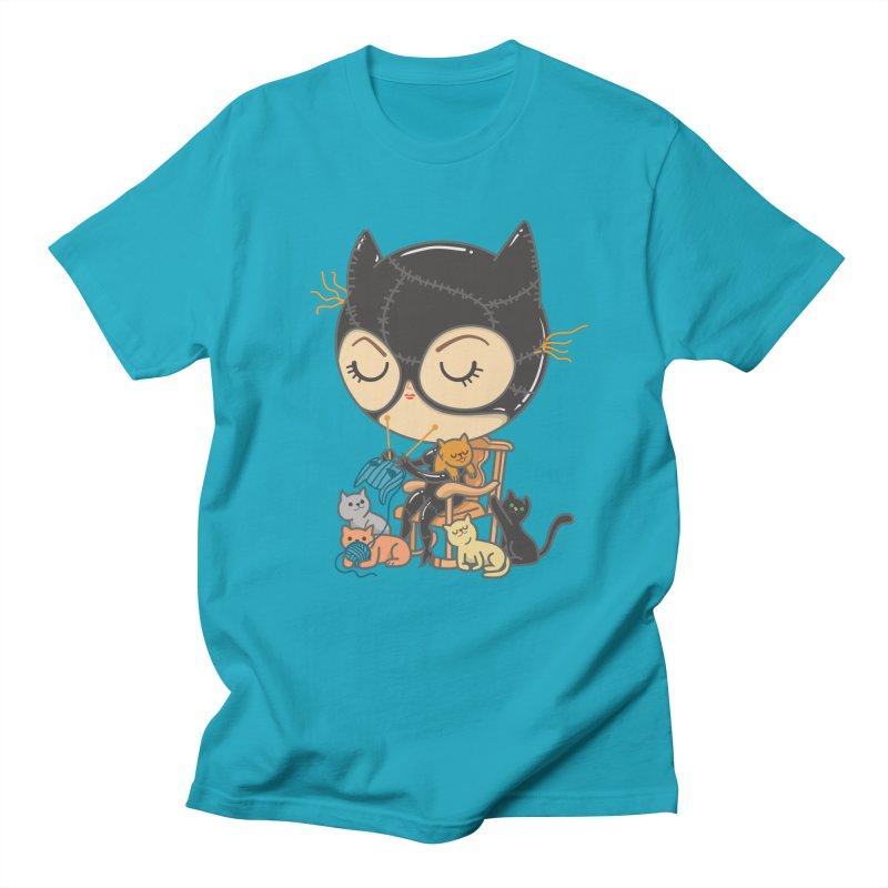 Cat Lady Women's Regular Unisex T-Shirt by Pepe Rodríguez