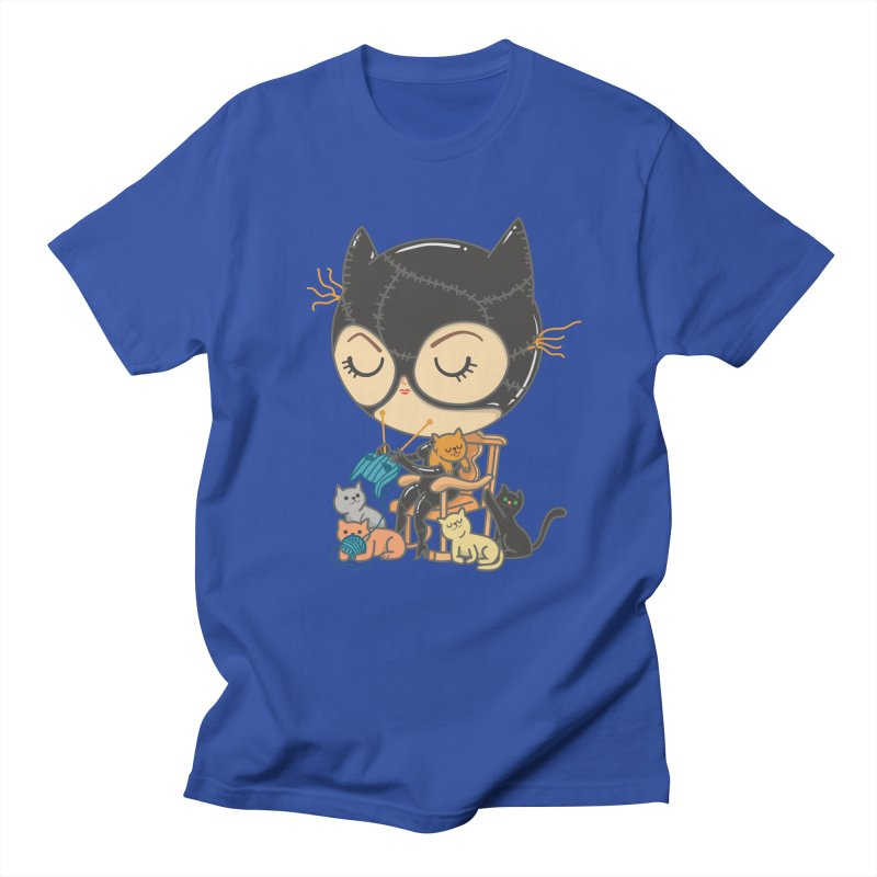 Cat Lady Men's Regular T-Shirt by Pepe Rodríguez