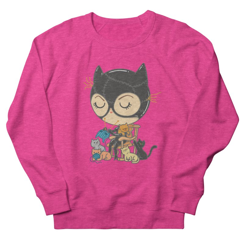 Cat Lady Men's French Terry Sweatshirt by Pepe Rodríguez