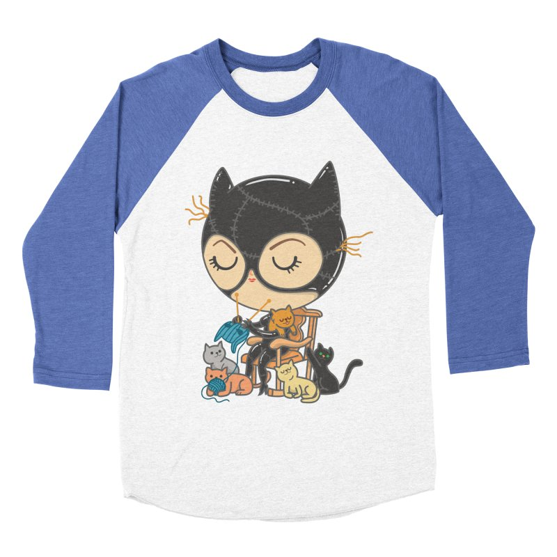 Cat Lady Women's Baseball Triblend T-Shirt by Pepe Rodríguez