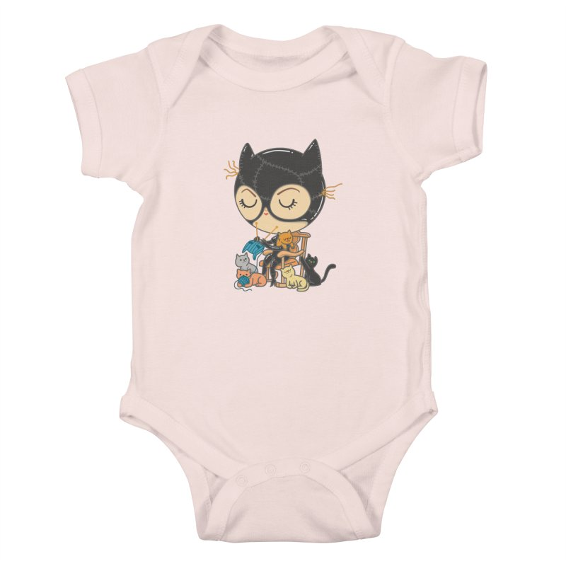 Cat Lady Kids Baby Bodysuit by Pepe Rodríguez