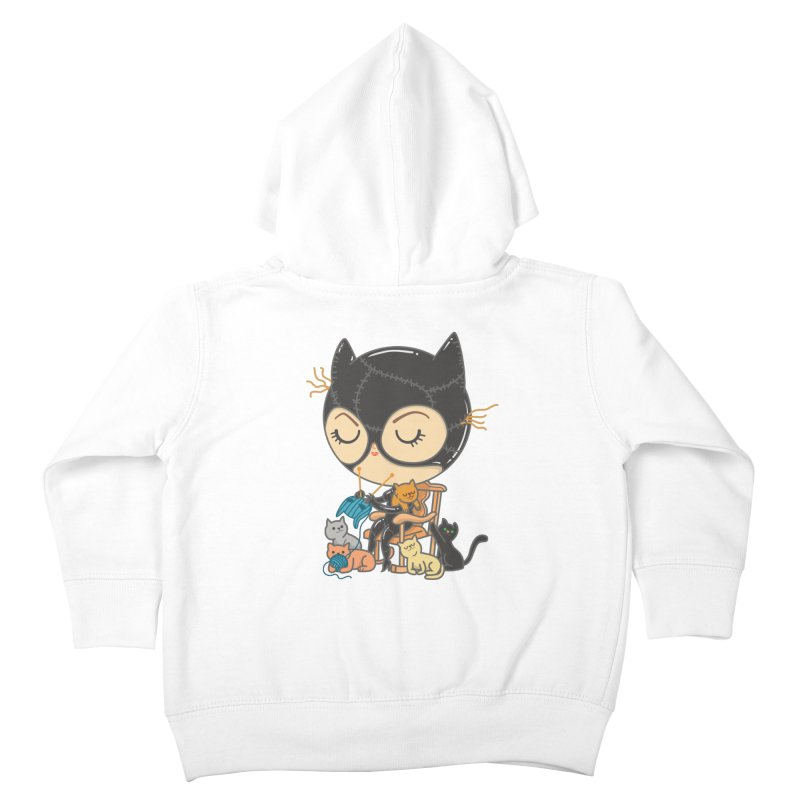 Cat Lady Kids Toddler Zip-Up Hoody by Pepe Rodríguez